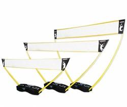 3-in-1 set - Portable Tennis, Badminton en Volleybal Net - Pro