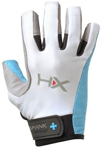 Harbinger Women's X3 Competition Open Finger Crossfit Fitness Handschoenen Blue/Gray/White