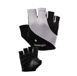 Harbinger Womens Power StretchBack Fitness Handschoenen - Black/Grey