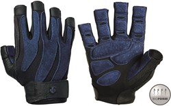d03d2b2848e Harbinger BioForm Fitness Handschoenen - Black/Blue