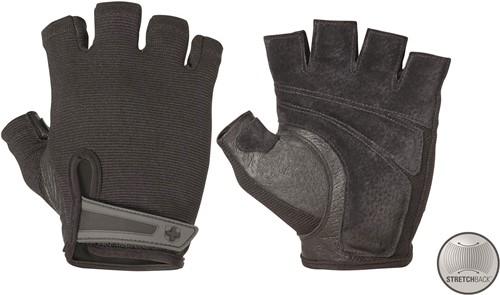 Harbinger Men's Power StretchBack Fitness Handschoenen - Zwart