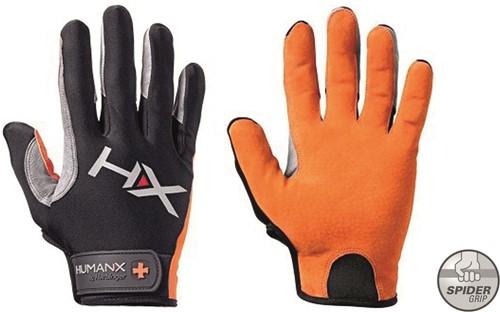 Harbinger Men's X3 Competition Crossfit Fitness Handschoenen Orange/Gray - S