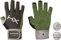 ac9f05b886c Harbinger Men's X3 Competition Open Finger Crossfit Fitness Handschoenen  WristWrap Green/Gray/Black