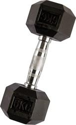 VirtuFit Hexa Dumbell - 6 kg - Per Stuk