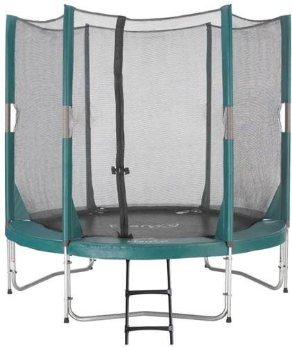 Etan Hi-Flyer Combi Trampoline met Veiligheidsnet - 244 cm - Groen - Tweedekans