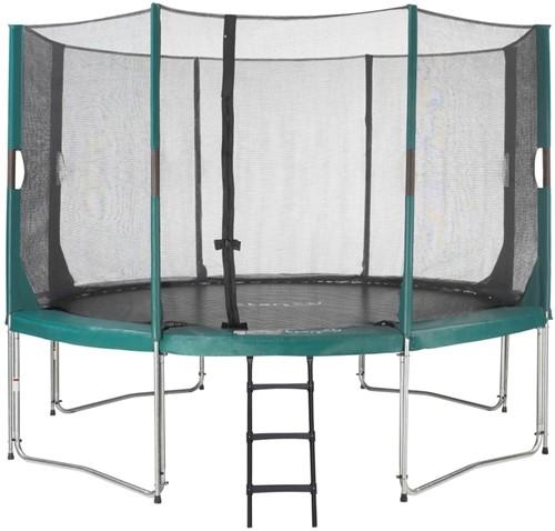 Etan Hi-Flyer Combi Trampoline met Veiligheidsnet - 366 cm - Groen