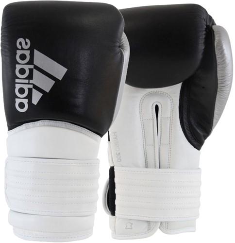 Adidas Hybrid 300 (Kick)Bokshandschoenen - Zwart/Wit/Zilver