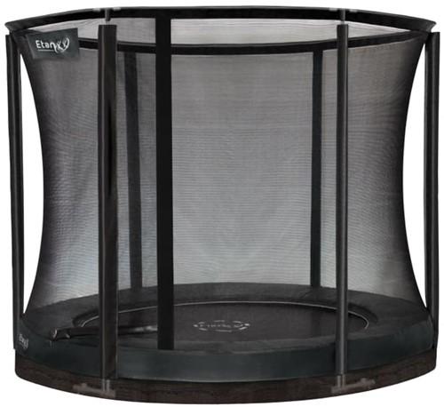 Etan Premium Gold Combi Inground Trampoline met Veiligheidsnet - 244 cm - Grijs