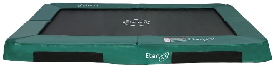 Etan Hi-Flyer Inground Trampoline - 281x201 cm - Groen