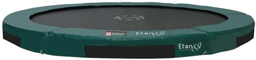 Etan Hi-Flyer Inground Trampoline 427 cm - Groen