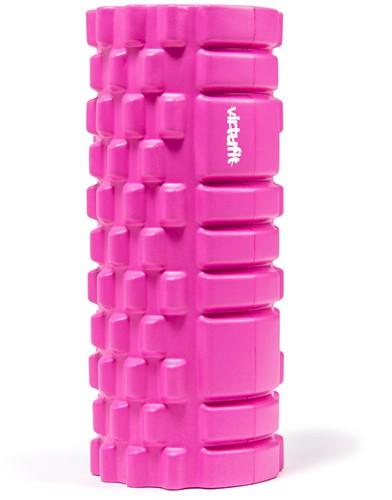 VirtuFit Grid Foam Roller 33 cm Roze-2