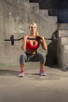 Iron Gym 23 kg verstelbare curl stang set - 25 mm-3