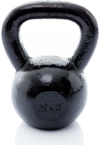 Muscle Power Gietijzeren Kettlebell - Zwart - 20 kg