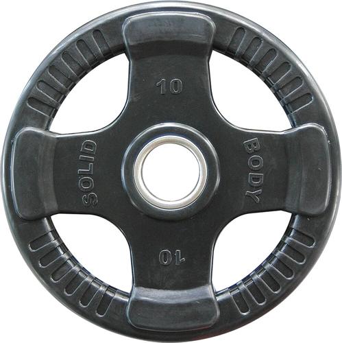 Body-Solid Olympische Rubber Halterschijf - 10 kg