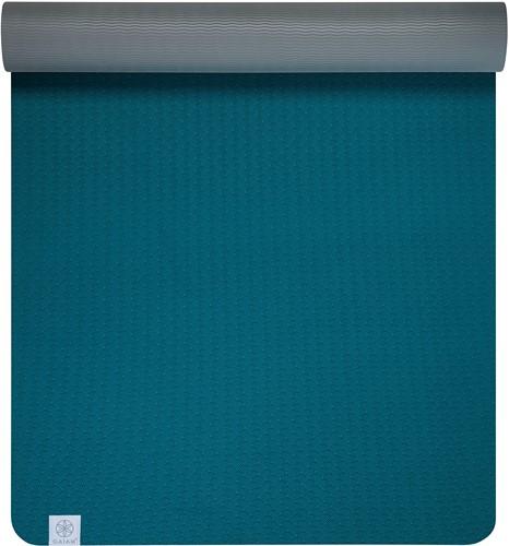 Gaiam Yoga Mat - 6 mm - TPE Lake
