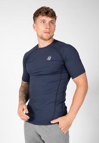 Gorilla Wear Lewis T-Shirt - Marineblauw