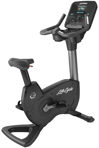 Life Fitness Platinum Explore Lifecycle Hometrainer - Titanium Storm - Gratis montage