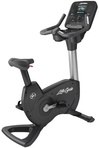 Life Fitness Platinum Explore Lifecycle Hometrainer Arctic Silver - Gratis montage