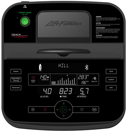 Life Fitness RS1 Track Connect Ligfiets - Gratis montage-2