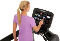 Life Fitness Platinum Discover SE3 Loopband - Diamond White - Gratis montage-3
