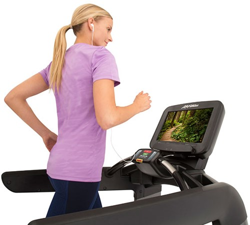 Life Fitness Platinum Discover SE3 Loopband - Black Onyx - Gratis montage-2