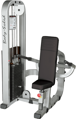 Body Solid Pro Club Line Triceps Pressdown Machine