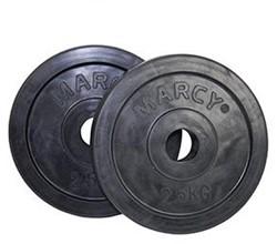 Marcy Rubberen Schijven 30 mm - 2.5 kg - set van 2