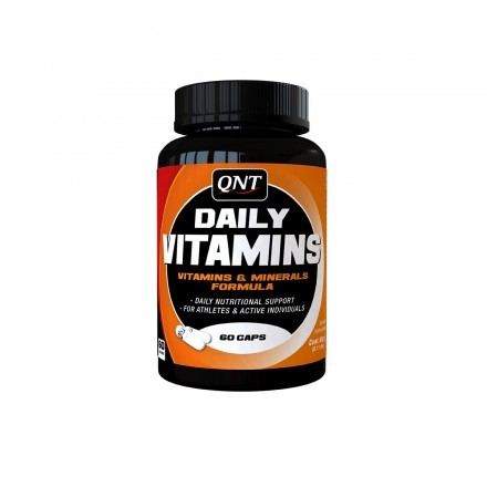 QNT Daily Vitamins 100 - 60 caps