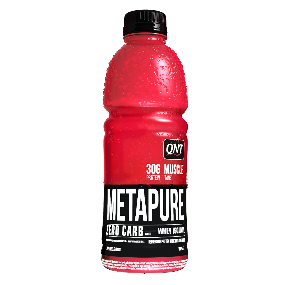 QNT Zero Carb Metapure 32g Protein- 24x500ml - Red Fruits
