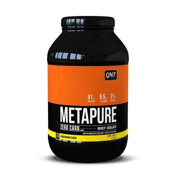 QNT Koolhydraatarm Zero Carb Metapure - 908g - Lemon Meringue