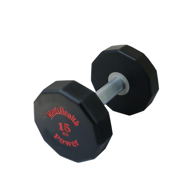 Men's Health PU Dumbbell - 15 kg
