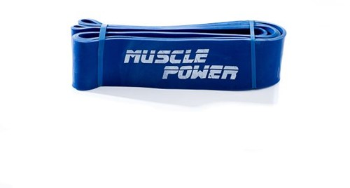 Muscle Power Power Band - Blauw - Extra Sterk