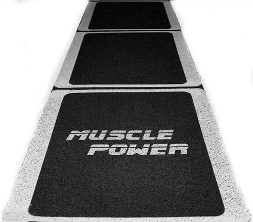 Muscle Power Rubberen Roll-Out Speed Ladder