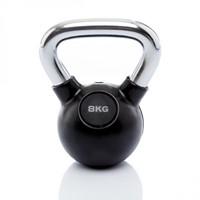 Kettlebell 8 kg rubber-1