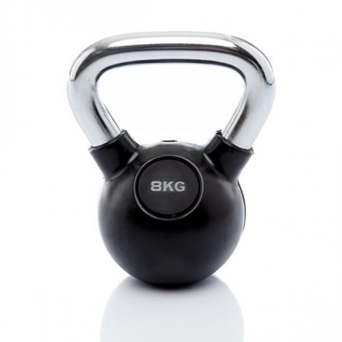 Kettlebell 8 kg rubber