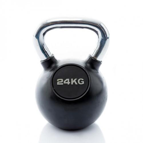 Muscle Power Rubberen Kettlebell - 24 kg