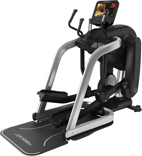 Life Fitness Platinum Club Series Discover SE3HD Flexstrider - Arctic Silver - Gratis montage