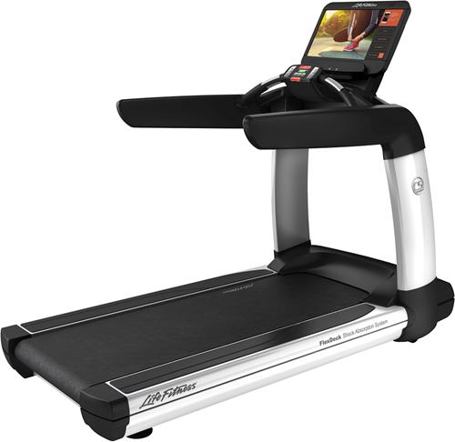 Life Fitness Platinum Club Discover SE3HD Loopband - Diamond White - Gratis montage