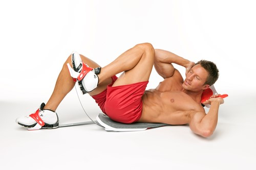 Perfect Fitness Perfect Sit Up Buikspiertrainer met work-out plan, voedingsgids en opbergsysteem - Verpakking beschadigd