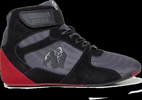 Gorilla Wear Perry High Tops Pro - Grijs/Zwart/Rood