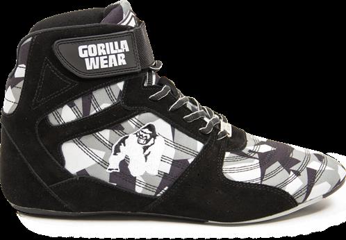 Gorilla Wear Perry High Tops Pro - Zwart/Grijs Camo