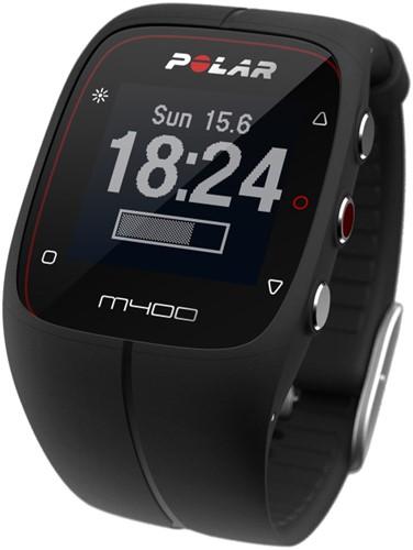 Polar M400 Activity Tracker - Zwart - met hartslagsensor - Verpakking beschadigd