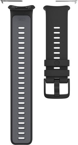 Polar Vantage V2 Verwisselbare Silliconen Polsband - Zwart