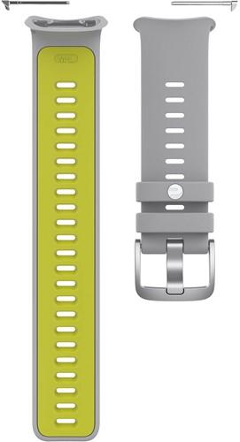 Polar Vantage V2 Verwisselbare Silliconen Polsband - Grijs / Lime