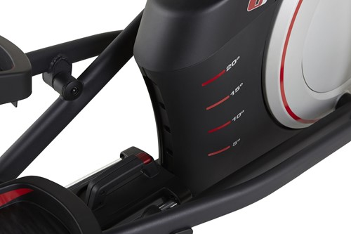 proform 520 i front drive crosstrainer hoogte verstelling