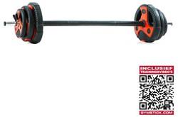 Gymstick Pump Set 20 kg met Trainingsvideo's