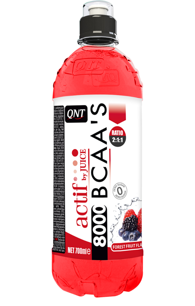 QNT BCAA'S 8000 - 24x700ml - Forest Fruits