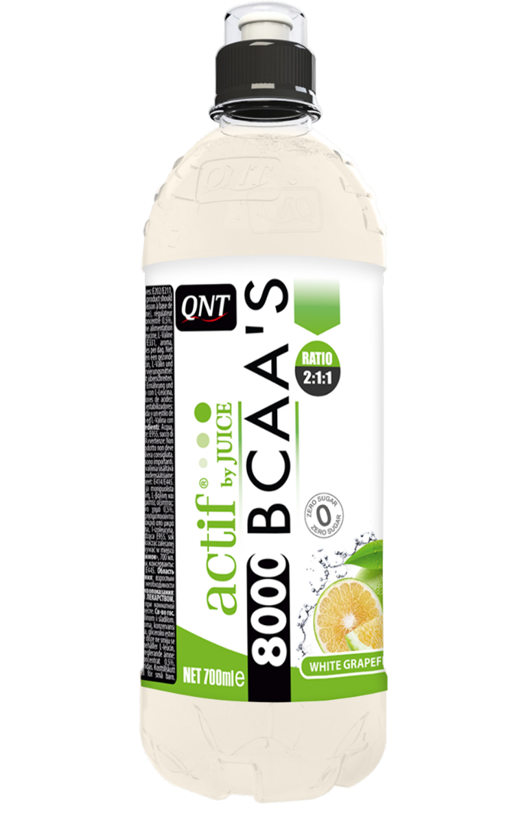 QNT BCAA'S 8000 - 24x700ml - White Grapefruit