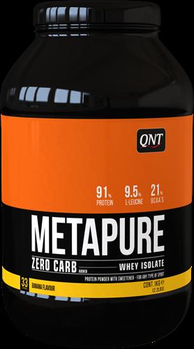 QNT Zero Carb Metapure - 2000g - Banaan