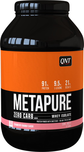 QNT Zero Carb Metapure - 1000g - Vanille